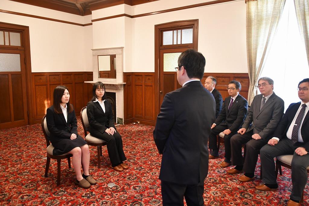 天理大学 | お知らせ|外交官養成セミナー開講式